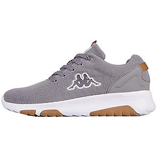 Kappa Unisex-Erwachsene Result Sneaker, Grau (1610 Grey/White), 38 EU