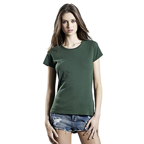EarthPositive - Women's Organic Vintage Washed T-Shirt Vintage Navy