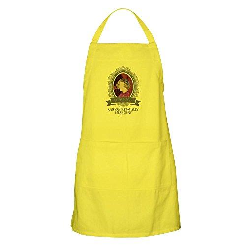 CafePress-Elsa Mars Schürze-Küche Schürze mit Taschen, Grillen Schürze, Backen Schürze, baumwolle, zitronengelb, Standard