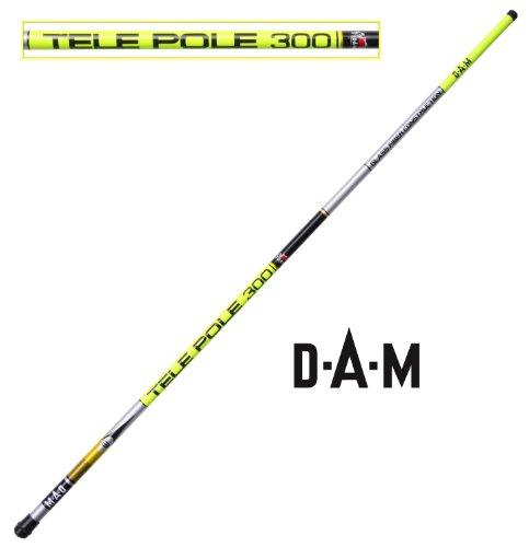 DAM Glass Fiber Tele-Pole - unberingte Teleskop Stipprute