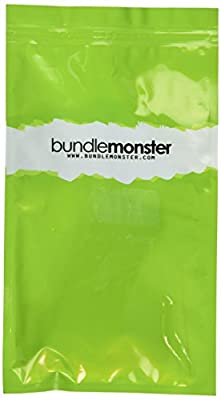 Bundle Monster 3-tlg. Set neuartiger Widerstandsringbaender fuer Pilates, Yoga und Fitnessuebungen zuhause - Widerstandsstufen: Leicht / Mittelmaessig / Stark