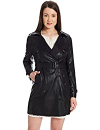 US POLO Women's Cotton Trench Coat