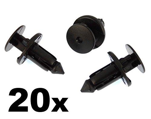 20x clips vw audi seat skoda ford panneau de porte türpappen Fixation colliers NEUF