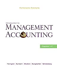 [(Introduction to Management Accounting: Chapters 1-17)] [By (author) Charles T. Horngren ] published on (March, 2010)