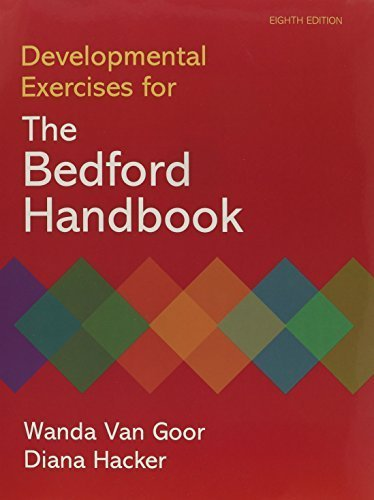 Developmental Exercises for The Bedford Handbook by Diana Hacker (2010-01-20)