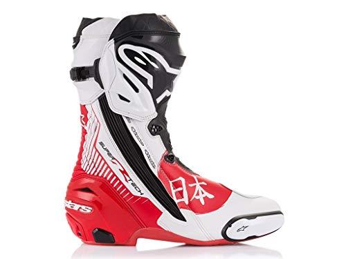 Alpinestars Racing Motorradstiefel Supertech R Boots Motegi Limited Edition, 43 EU