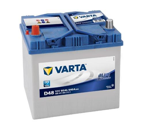 Preisvergleich Produktbild Varta 5604110543132 Autobatterien Blue Dynamic D48 12 V 60 mAh 540 A
