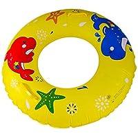 Bestdayever Flotador Hinchable para Piscina – Juguete para Adultos y Niños, amarillo