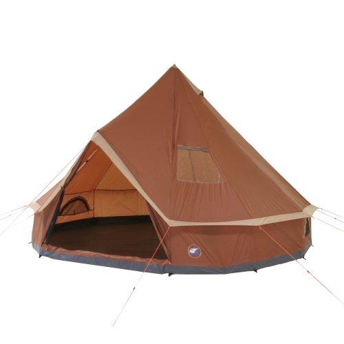 10T Mojave 400 Tente pyramide pour 8 personnes Châtain/Beige