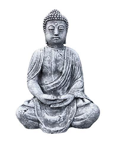 Steinfigur Großer Buddha Shiva