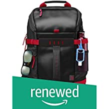 (Renewed) HP Montego X0R83AA#UUFBackpack for 15.6-inch Laptops (Red and Black)
