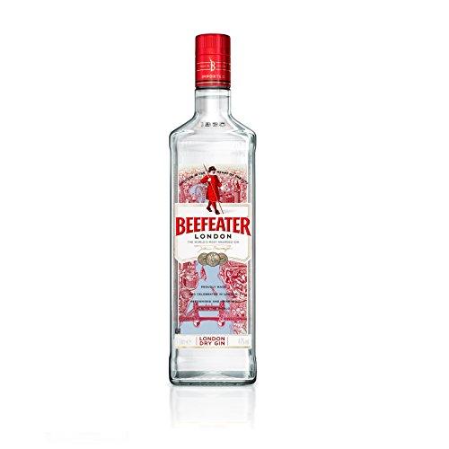 Beefeater London Dry Gin/Der meistausgezeichnete Gin der Welt/Klassisch frischer Gin mit vielschichtigem Charakter/Perfekte harmonische Basis für vielseitige Geschmackskombinationen/1 x 1 L (Richmond Natürlichen)