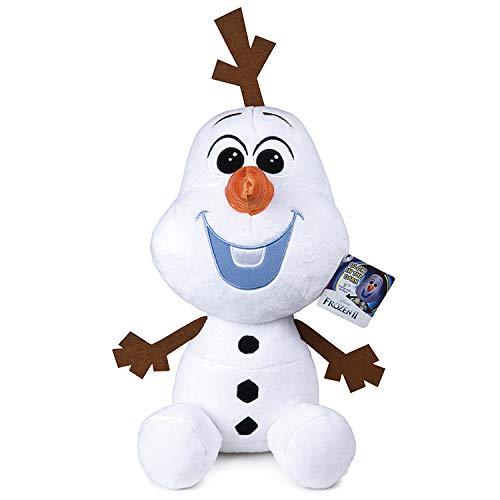 Grandi Giochi GG01298 - Olaf de Peluche (40 cm), diseño de Frozen2