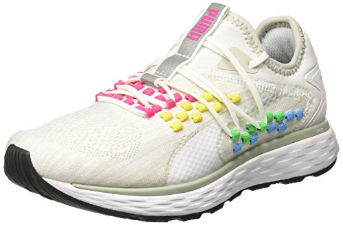 Puma Speed 600 FUSEFIT Heat Map Wns, Scarpe Running Donna, Bianco White, 42.5 EU