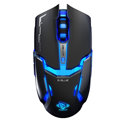 E-Blue EMS602 Auroza High Precision 4000 DPI PRO Gaming Mouse – IM Gamers Edition 417ZId dFVL