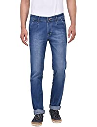 Stylox Dark Blue Slim Fit Jeans For Men