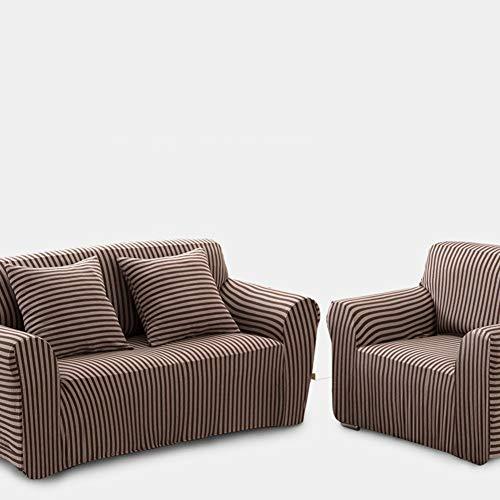 Sqinaa cotone,fodera per divano a righe protettore di animali domestici bambini divano letto cuscino per 1 pezzo morbido divano copre-e