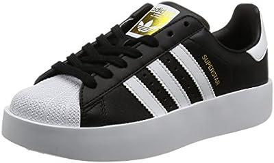 adidas SUPERSTAR BOLD W - Zapatillas deportivas para Mujer, Negro - (NEGBAS/FTWBLA/DORMET)