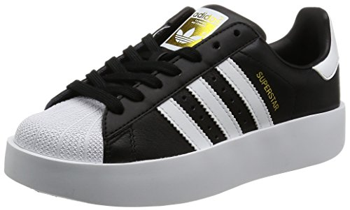 adidas Damen Schuhe / Sneaker Superstar Bold W, Schwarz, *
