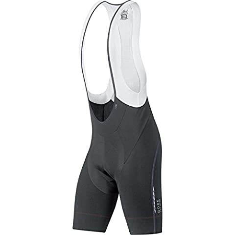 Gore Bike Wear WWOXMS990003 Salopette corta Termica Uomo, GORE Selected Fabrics, OXYGEN Partial Thermo short+, Taglia S, Nero