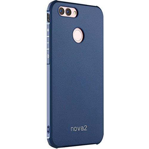 Preisvergleich Produktbild Huawei nova 2 Case -Tianqin Weiche TPU Huawei nova 2 Cover [dünn][tragbare][Anti scratch][Stoßdämpfung] [Langlebig]für Huawei nova 2 Gehäuse - Blau