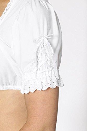 Michaelax-Fashion-Trade - Chemisier - Manches Courtes - Femme Blanc