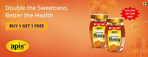 Apis Himalaya Honey, 500g (Buy 1 Get 1 Free)