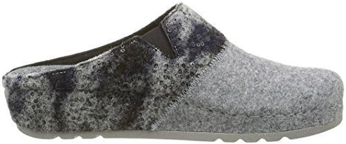 Rohde Riesa, Chaussons Mules Femme Gris (Platine)
