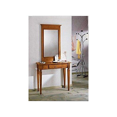Estea mobili - consolle legno tavolo piccola scrivania 1 cassetto arte povera - 121137981716 - come foto