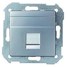 Simon 82008-93 - Placa V&D Plana Cg Para 1 Rj-45 Systimax