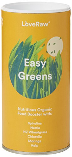 Love Raw fácil verdes alimentos orgánicos Booster, 150g