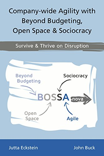 Company-wide Agility with Beyond Budgeting, Open Space & Sociocracy: Survive & Thrive on Disruption (English Edition) -