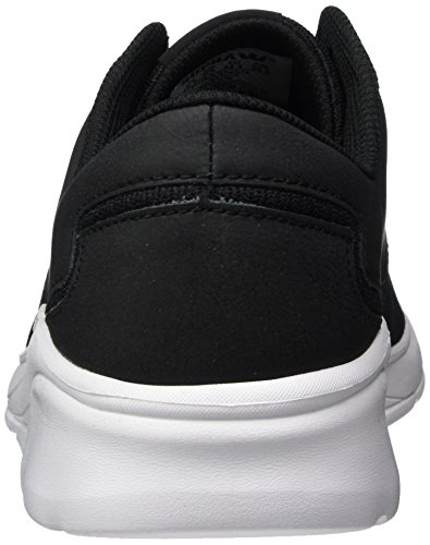 Supra Herren Noiz Low-Top Schwarz (Black - White)