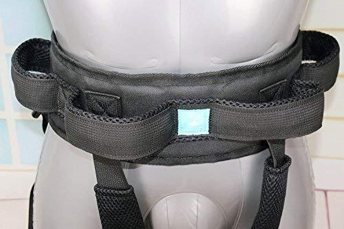417ZPMyWn2L - YxnGu Cinta de Transferencia - Dispositivo de arnés del cinturón de la Marcha de la grúa de Asistencia móvil para bariátrica, pediátrica, Ancianos, Terapia Ocupacional y física