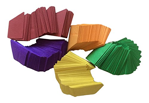 House of Card & Paper Paper Party Hats - Assorted Colours (Pack of 30)
