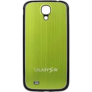 xubix Galaxy S4 Akkudeckel brushed Metall Look Samsung i9500 / i9505 Black Edition / Grün
