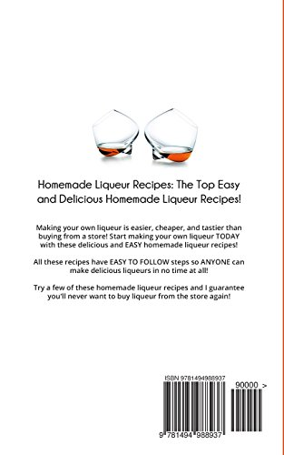 Homemade Liqueur Recipes: The Top Easy and Delicious Homemade Liqueur Recipes!