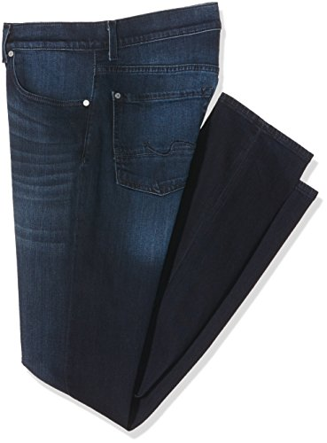 7 For All Mankind Herren Jeanshose Slimmy Blau (Indigo 0Ai)