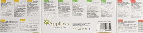 Applaws Cat Food Pate Multipack Fresh Selection 7x100g 2
