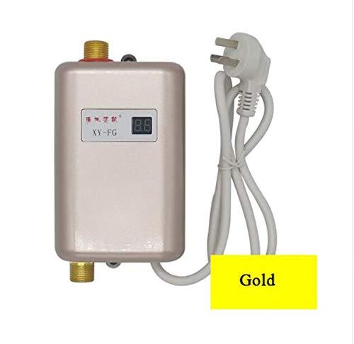 WG Sofortiger elektrischer Warmwasserbereiter Warmwasserküche Schnellheizung Thermostat Haushalt Calentador de agua 220V,A