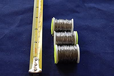 3x Large Spool Lead Wire 0,56mm Thick, FLY TYING, FLY FISHING, Fly Dressing by firetrappp