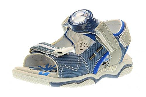 SUPERJUMP COLLEZIONE AMERICA chaussures bébé SJ2974 sandales VICTOR BLUE JEANS