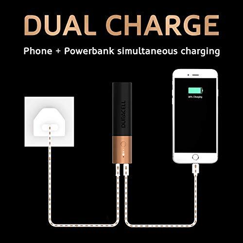 Duracell PB3350 5002730 3350mAH Lithium Ion Powerbank Image 7