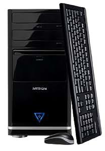 Medion Akoya E1006 D Desktop PC (AMD Brazos E450 Dual Core 1.65GHz, 4GB RAM, 1TB HDD, DVD/CD-RW, LAN, AMD Radeon HD6320, Windows 7 Home Premium 64-Bit)