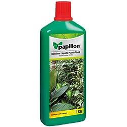 PAPILLON 8025002 Abono Liquido Papillon Plantas Verdes 1kg