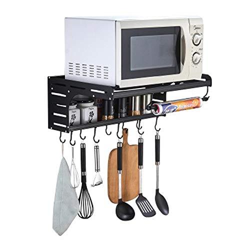 Ofen-gestell (HUIFA Raum-Aluminiummikrowellen-Ofen-Gestell Multifunktionsküchen-Gestell Mikrowellen-Ofen-Gestell an der Wand befestigt 。)