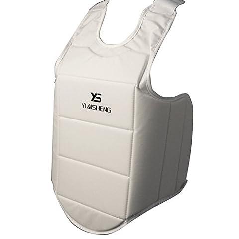 MagiDeal Unisex Brustschutz Schaum Atmungsaktiv Kampfkunst Sport Zubehör Beschützer -