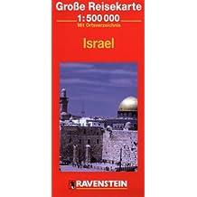 Israel Map (Ravenstein International Maps)