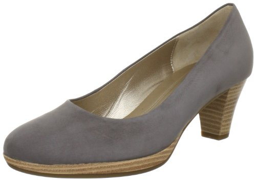 Gabor Shoes 6524016 Damen Pumps Grau (fumo (sohle natur))