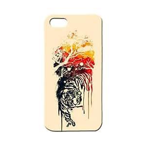 BLUEDIO Designer 3D Printed Back case cover for Apple Iphone 5 / 5S / SE - G0960
